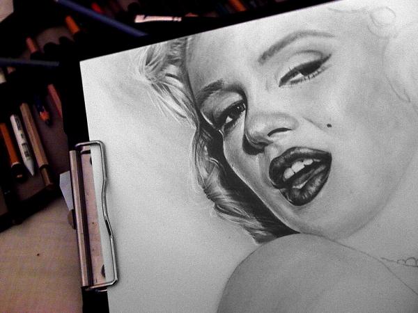 Marilyn Monroe by therone89